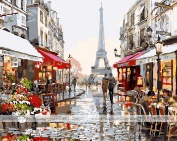 Tranh vẽ paris