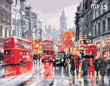 Tranh tô màu London 13