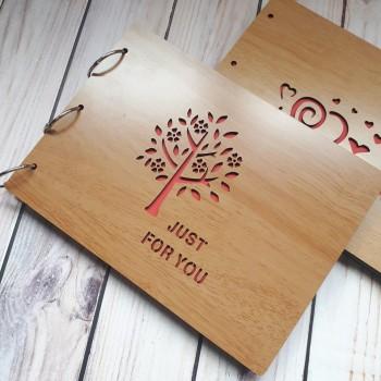 Album gỗ lớn cây lớn AGL11
