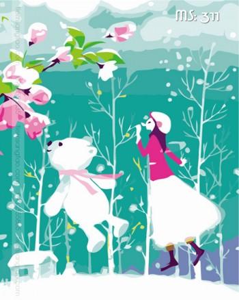 Tranh tô màu giấc mơ mùa xuân 311