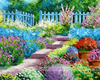 Tranh tô màu khu vườn rạng rỡ 253