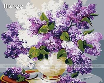 Tranh tô màu lavender 199
