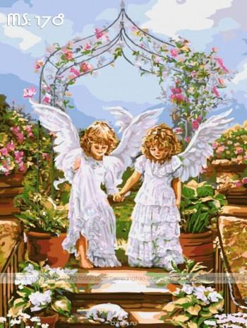 Tranh tô màu Những Thiên Thần Bé Nhỏ 178