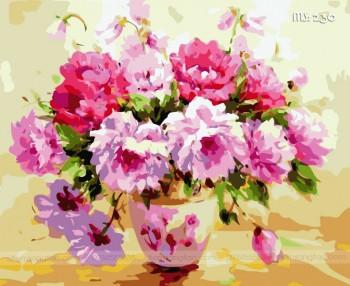 Tranh tô màu hoa dịu dàng 230