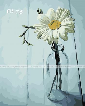 Tranh tô màu Hoa Cúc 75