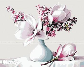 Tranh tô màu Hoa Mộc Lan 88