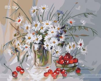 Tranh tô màu Hoa Cúc Nhí 119