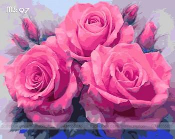 Tranh tô màu Hoa Hồng 97