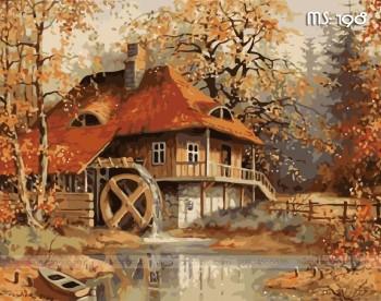 Tranh tô màu ngôi nhà cổ tích 198