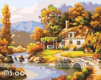 Trở thành họa sĩ thật đơn giản với tranh tô màu theo số Madoca